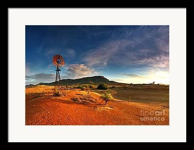 First Light Framed Prints