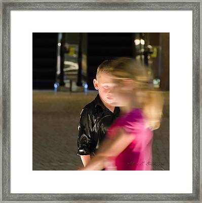 First Love Framed Print