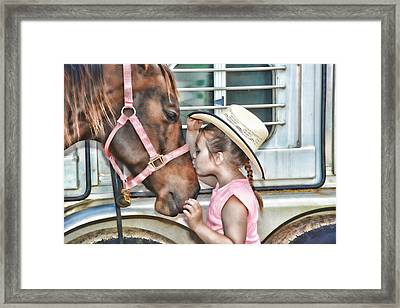 First Love Framed Print by Keith Lovejoy