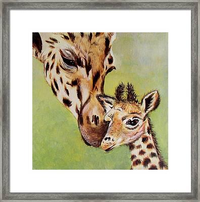 First Love Framed Print by Susan Duxter