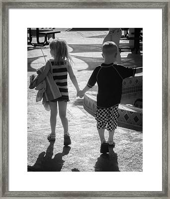 First Love Framed Print