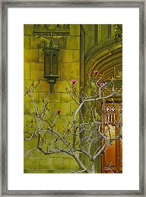 First Methodist Episcopal Church In Pasadena 1923 Framed Print by Ben and Raisa Gertsberg