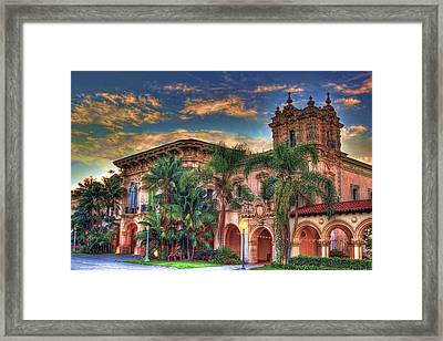 Framed Print featuring the photograph First Morning Glow by Gary Holmes