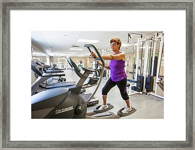 First Nation Woman Fort Chipewyan Framed Print