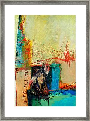 First Nations 10b Framed Print by Corporate Art Task Force