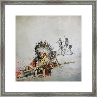 First Nations 16 Framed Print by Corporate Art Task Force