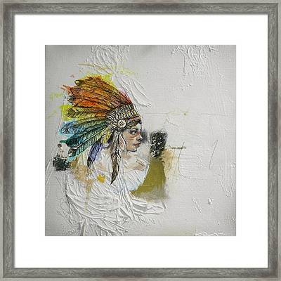 First Nations 17 Framed Print by Corporate Art Task Force