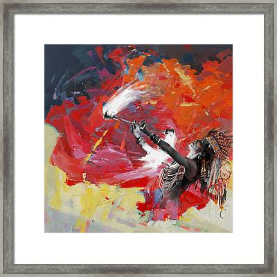 First Nations 18 Framed Print