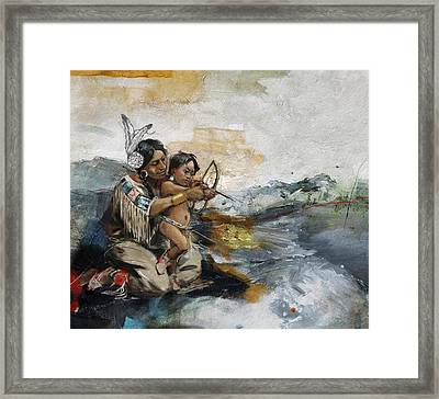 First Nations 19 Framed Print by Corporate Art Task Force