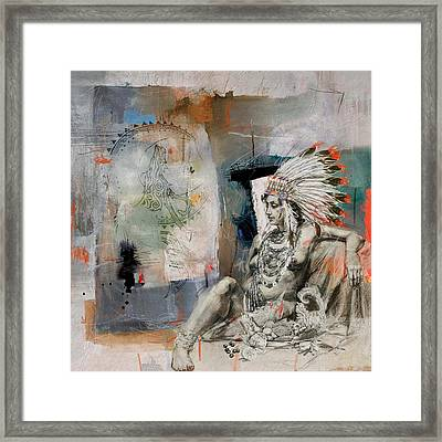 First Nations 21 Framed Print by Corporate Art Task Force