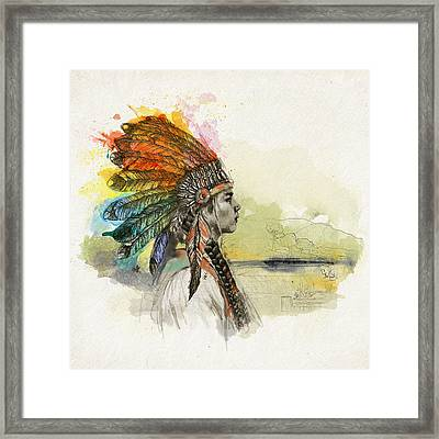 First Nations 26 Framed Print