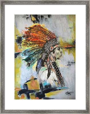 First Nations 26b Framed Print