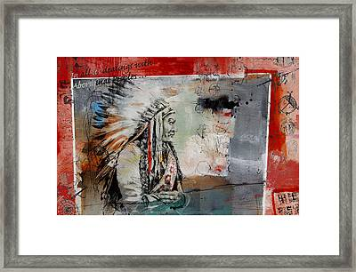 First Nations 28 Framed Print