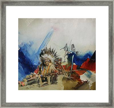 First Nations 30 Framed Print