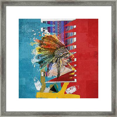 First Nations 31 Framed Print