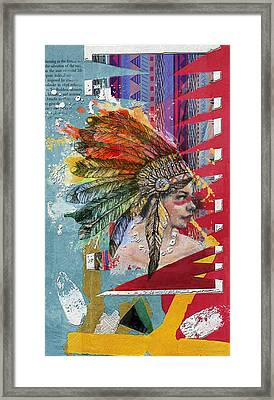 First Nations 32 B Framed Print by Corporate Art Task Force