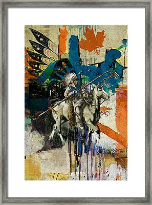 First Nations 35 Framed Print by Corporate Art Task Force