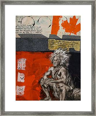 First Nations 36 Framed Print by Corporate Art Task Force