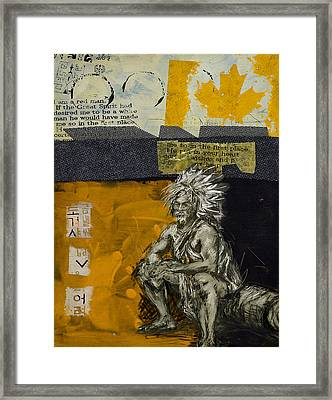First Nations 37 Framed Print