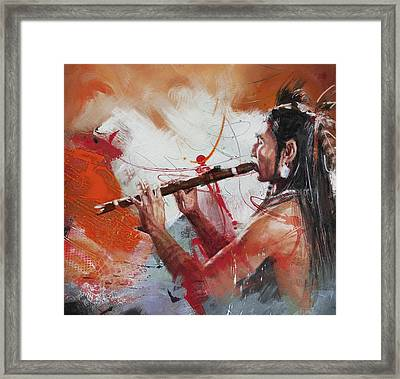 First Nations 39 Framed Print by Corporate Art Task Force