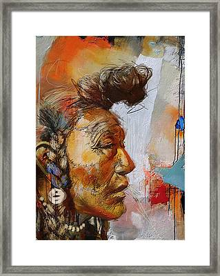 First Nations 4 Framed Print by Corporate Art Task Force