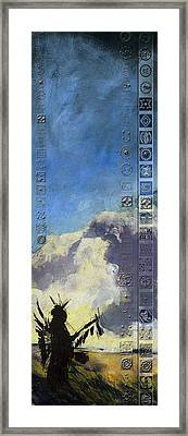 First Nations 44 Framed Print by Corporate Art Task Force