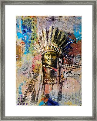 First Nations 6 Framed Print