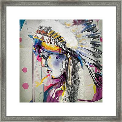 First Nations 7 Framed Print by Corporate Art Task Force