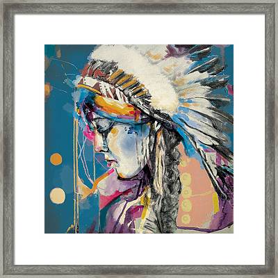 First Nations 7b Framed Print