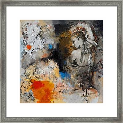 First Nations 8 Framed Print by Corporate Art Task Force
