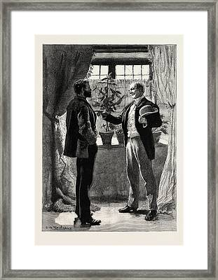 First Person Singular Framed Print by Charles Stanley Reinhart (may 16, 1844 - August 30, 1896), American