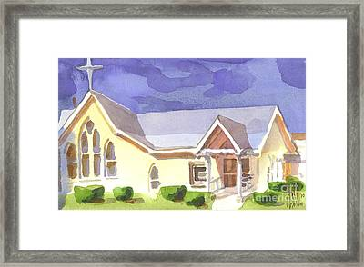 First Presbyterian Church II Ironton Missouri Framed Print by Kip DeVore