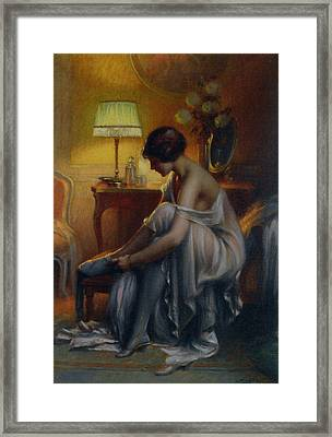 First Primers Framed Print by Delphin Enjolras