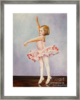 First Recital Framed Print by Cynthia Parsons