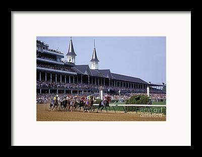 Derby Framed Prints
