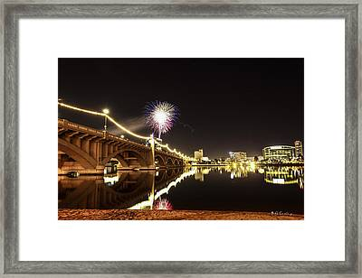 First Shot Of The Year Framed Print by Bill Cantey