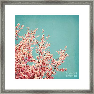 First Sign Of Spring Framed Print by Kim Fearheiley