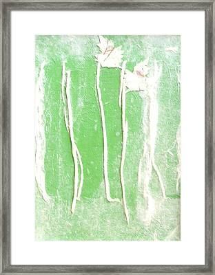 First Signs Of Spring 1 Framed Print