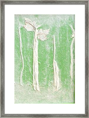 First Signs Of Spring Ll Framed Print