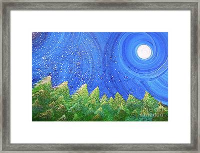 First Snow By Jrr Framed Print by First Star Art