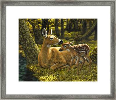 First Spring - Variation Framed Print by Crista Forest