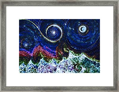 First Star Magic Sky By Jrr Framed Print by First Star Art