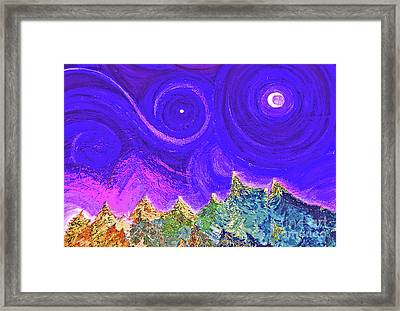 First Star Sunrise Framed Print by First Star Art