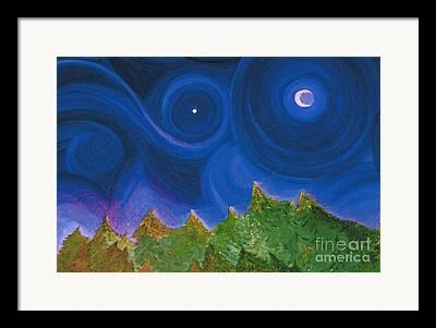 First Star Art By Jrr Framed Prints