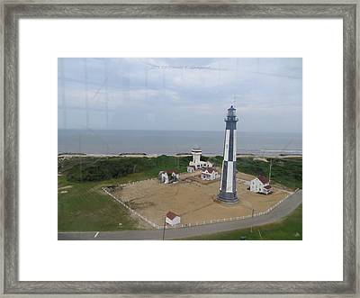 First State Landing  Lighthouse Framed Print by Sonali Gangane
