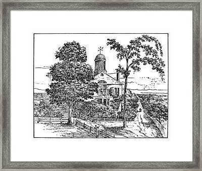 First State Normal School Framed Print by Granger