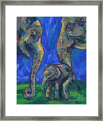First Steps Framed Print by Lovejoy Creations