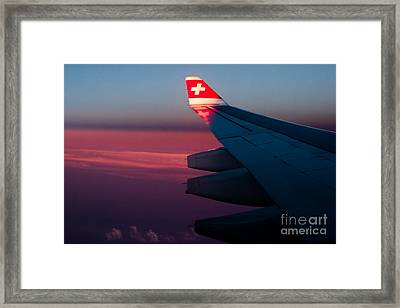 First Sunlight Framed Print by Syed Aqueel