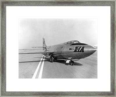 First Supersonic Aircraft, Bell X-1 Framed Print by Science Source