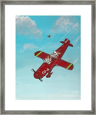 First Take Off Framed Print
